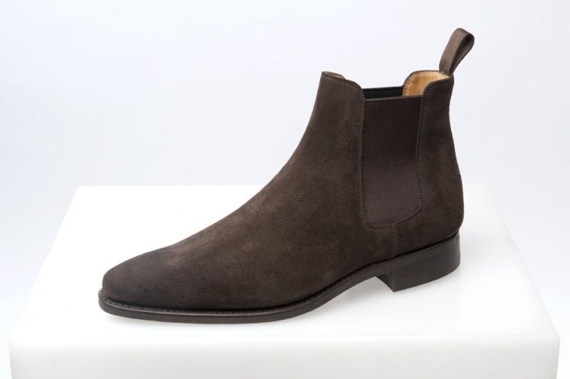 Boots veau velours