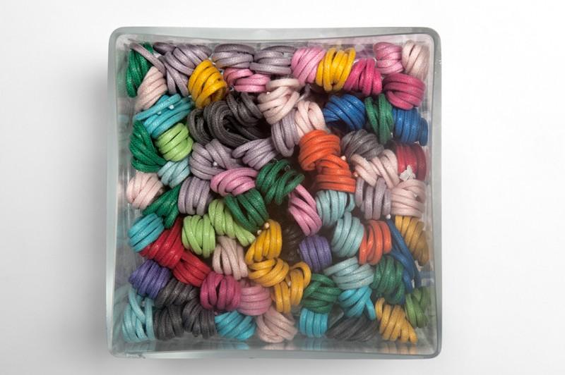 Lacets de couleur